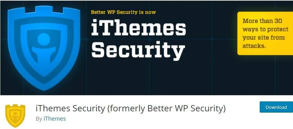 must have free WordPress plugins - iThemes Security